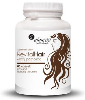 Revital Hair 60kaps. LICAPS Aliness