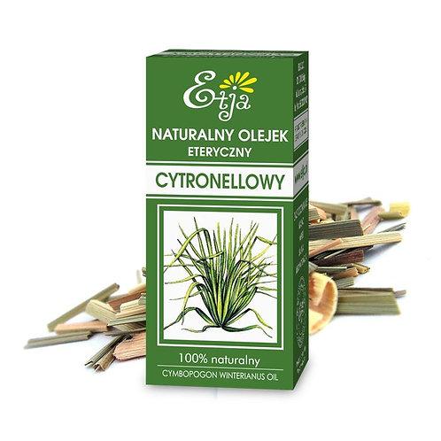 Olejek Eteryczny Naturalny Cytronellowy 10ml ETJA