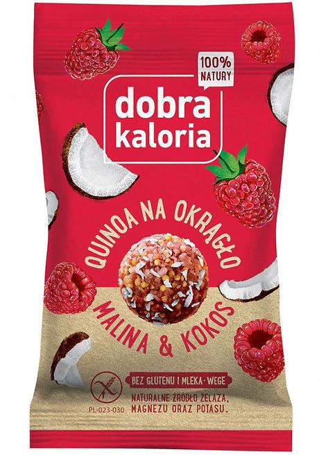Quinoa na Okrągło Malina i Kokos 24g Dobra Kaloria