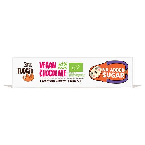 Czekoladowy Baton o Smaku Kokosowym bez Dodatku Cukru 40g Super Fudgio BIO