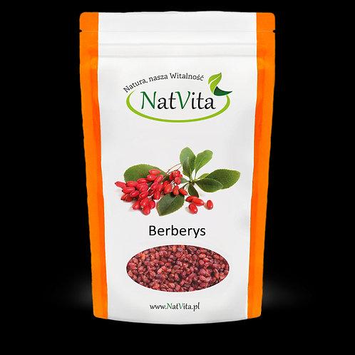 Berberys Owoce Suszone 250g Natvita