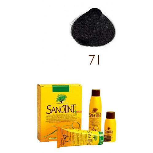 Farba do Włosów na Naturalnej Bazie 71 CZARNY SANOTINT SENSITIVE