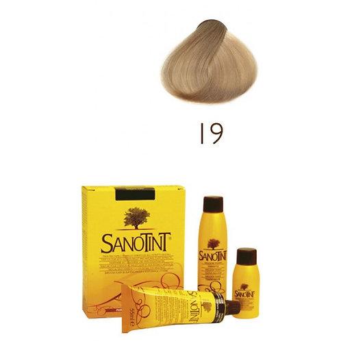Farba do Włosów na Naturalnej Bazie 19 BARDZO JASNY BLOND SANOTINT CLASSIC
