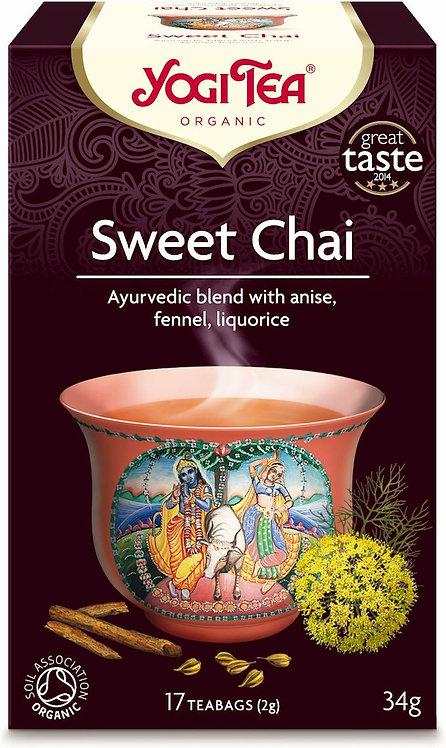 Słodki czaj SWEET CHAI Bio Yogi Tea