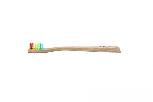Szczoteczka MyEcoBrush Bamboo KIDS SLIM miękka