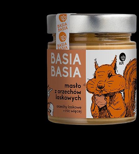 BasiaBasia Masło z Orzechów Laskowych 210g Alpi