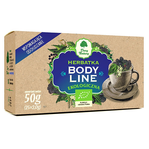Herbatka Body Line BIO (25x2g) Dary Natury