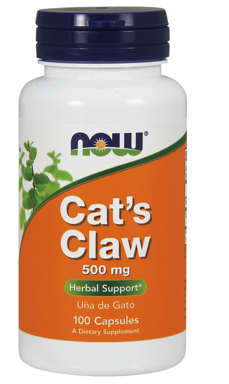 Cat's Claw 500mg 100kaps NOW FOODS