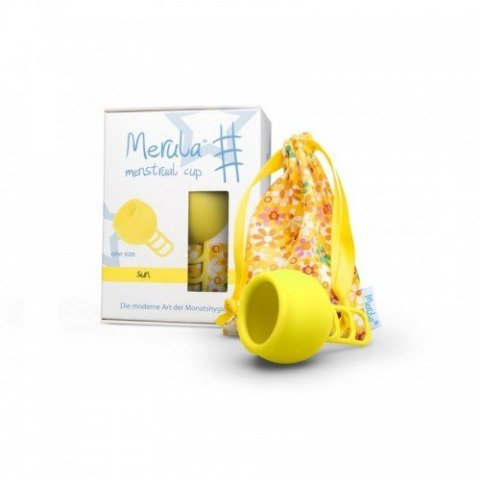 Merula Cup Sun - UNIWERSALNY kubeczek menstruacyjny
