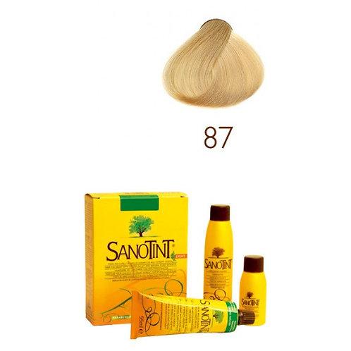 Farba do Włosów na Naturalnej Bazie 87 B. JASNY ZŁOTY BLOND SANOTINT SENSITIVE