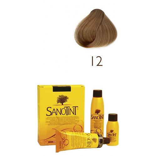 Farba do Włosów na Naturalnej Bazie 12 NATURALNY ZŁOTY BLOND SANOTINT CLASSIC
