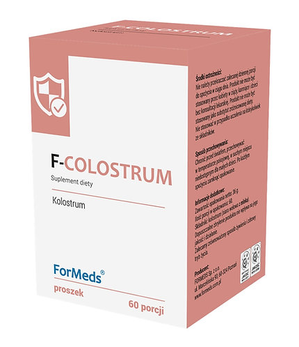 F-COLOSTRUM 60porcji Formeds