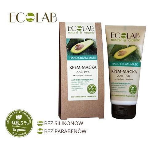 Krem/maska do rąk - organiczny olej avocado 100ml Eco Labolatorie