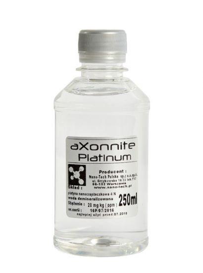 Koloid Platyna- Platynowa Woda 250ml nano-TECH - aXonnite Platinum