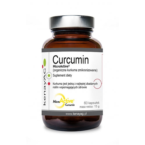 Kurkuma zmikronizowana - MicroActive Curcumin 60kaps. - suplement diety KenayAG