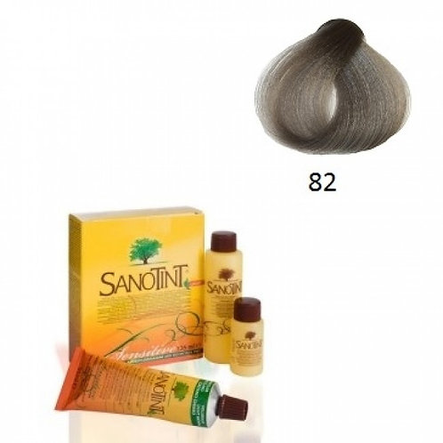 Farba do Włosów na Naturalnej Bazie 82 JASNO SZARY SANOTINT SENSITIVE