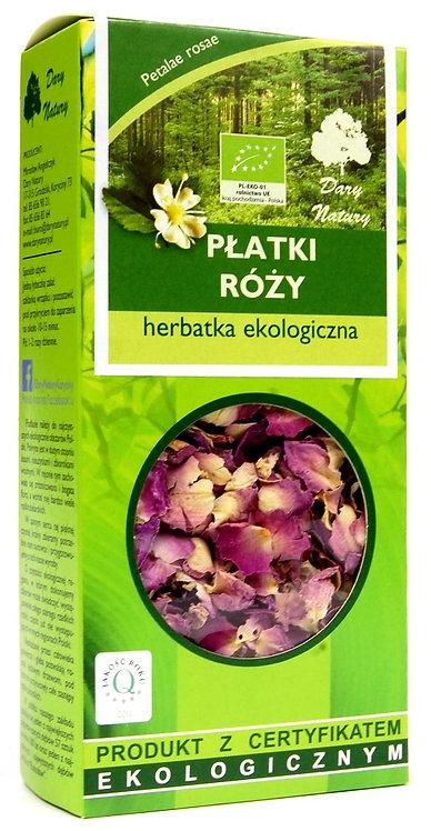 Herbatka z Płatków Róży BIO 20g Dary Natury
