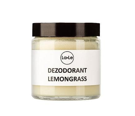 Dezodorant Ekologiczny w Kremie z Olejkiem Lemongrass 120ml La-Le