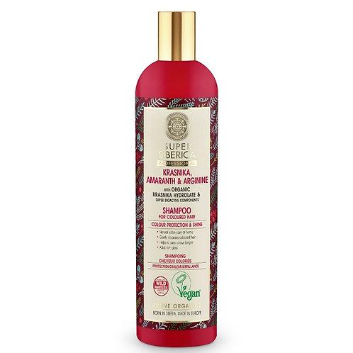 Szampon do włosów Colour Protection & Shine, 400 ml SUPER SIBERICA PROFESSIONAL