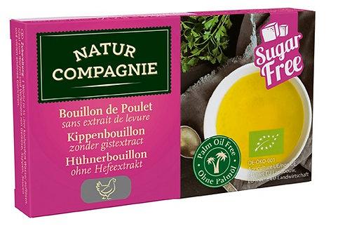 Bulion Kostki Drobiowe Bez Dodatku Cukrów i Drożdży BIO 80g Natur Compagnie