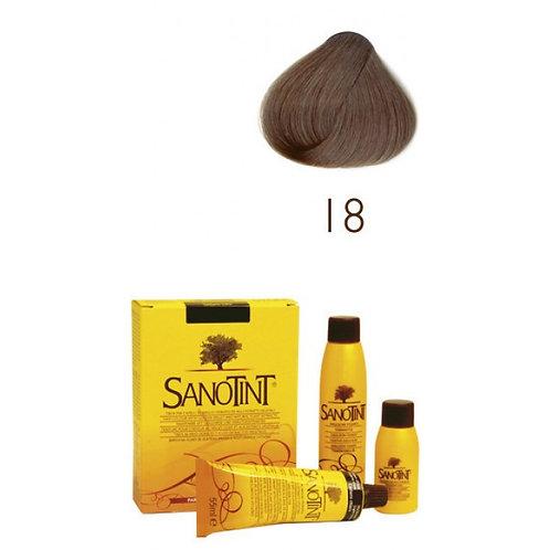 Farba do Włosów na Naturalnej Bazie 18 NORKOWY BRĄZ SANOTINT CLASSIC