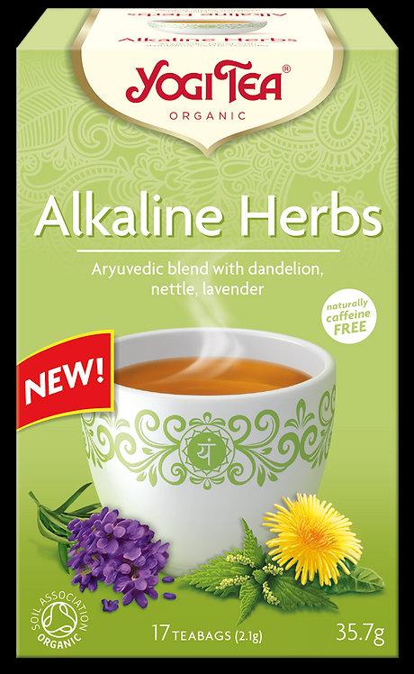 Zioła alkaliczne ALKALINE HERBS Bio Yogi Tea