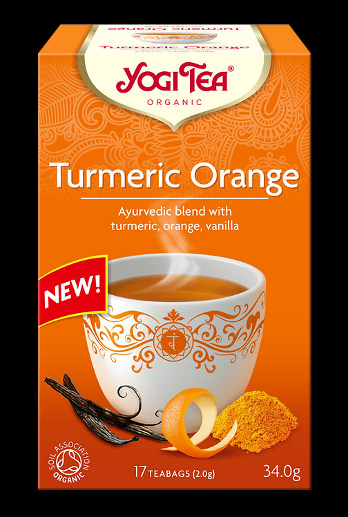 Kurkuma pomarańcza TURMERIC ORANGE Bio Yogi Tea