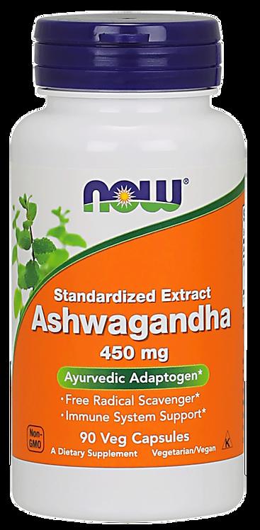 Ashwagandha Extract 450mg 90kaps NOW FOODS