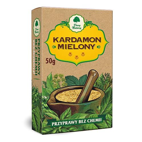 Kardamon Mielony 50g Dary Natury