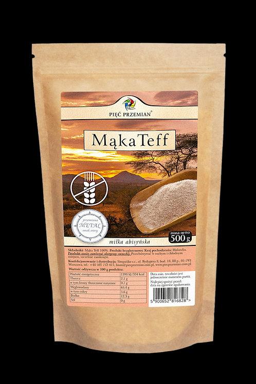 Mąka Teff Bezglutenowa 500g Pięć Przemian