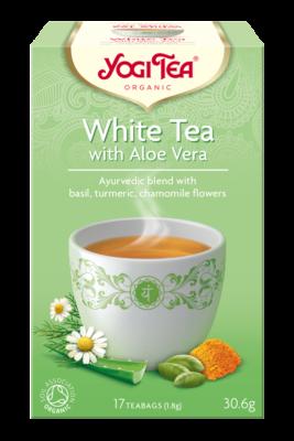 Herbata biała z aloesem WHITE TEA WITH ALOE VERA Bio Yogi Tea