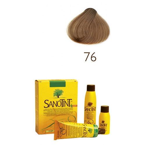 Farba do Włosów na Naturalnej Bazie 76 BURSZTYNOWY BLOND SANOTINT SENSITIVE