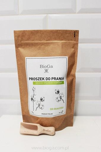 BioGa Proszek do prania białego 1kg