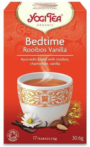 Na sen Rooibos Wanilia BEDTIME ROOIBOS VANILLA Bio Yogi Tea