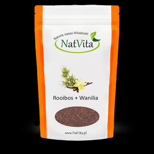Herbatka Rooibos z Wanilią 60g Natvita