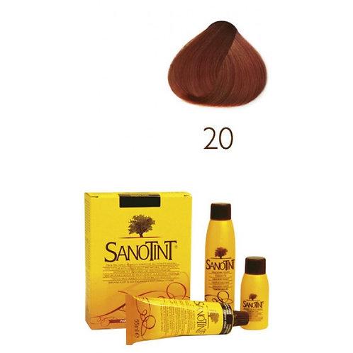 Farba do Włosów na Naturalnej Bazie 20 TYCJANOWSKA CZERWIEŃ SANOTINT CLASSIC