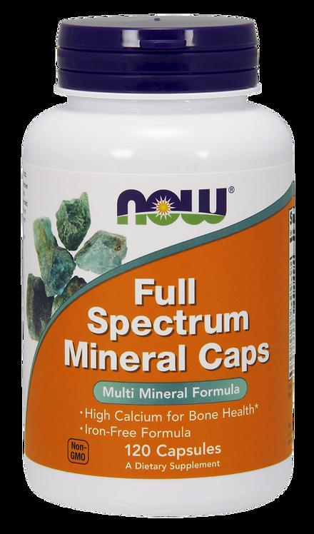Full Spectrum Mineral 120kaps NOW FOODS