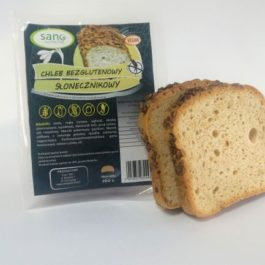 Chleb Bezglutenowy ze Słonecznikiem 160g Sano