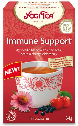 Na odporność IMMUNE SUPPORT Bio Yogi Tea