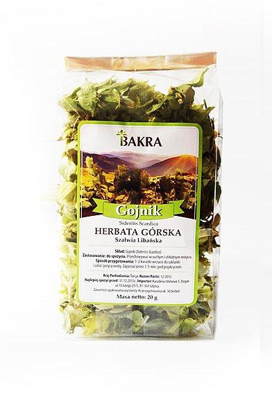 Herbata Górska (Szałwia Libańska) Gojnik 20g Bakra