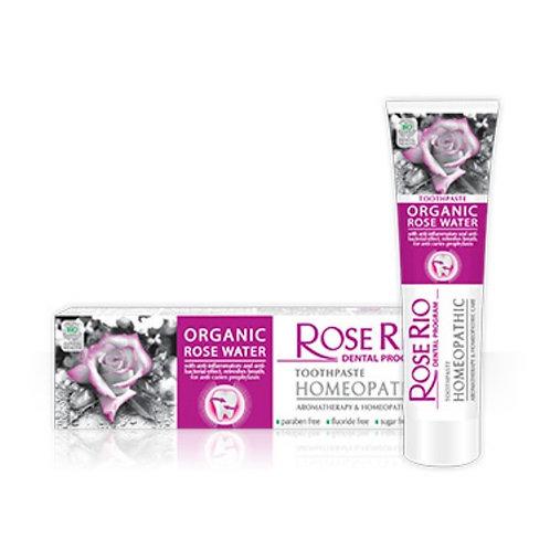 Homeopatyczna Pasta do zębów Rose Rio Homeopathic 65 ml STS Cosmetics