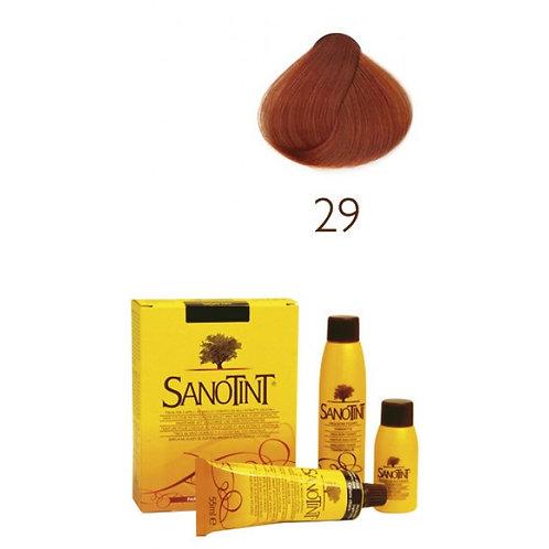 Farba do Włosów - Naturalna Baza 29 INTENSYWNY MIEDZIANY BLOND SANOTINT CLASSIC