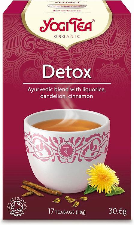 Oczyszczająca DETOX Bio Yogi Tea