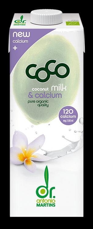 Napój Kokosowy z Wapniem z Alg Morskich BIO 1L Coco (Dr Martins)