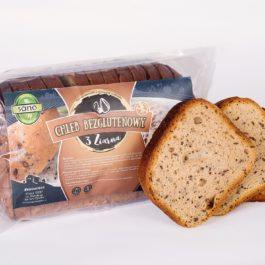Chleb Bezglutenowy 3 ziarna 350g Sano