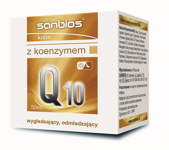 Krem z Koenzymem Q10 50ml Sanbios