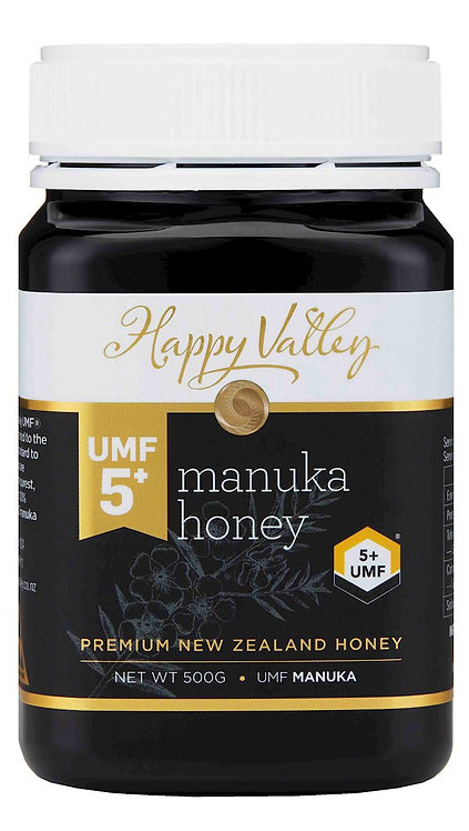 Miód MANUKA 5+ UMF 500g Happy Valley