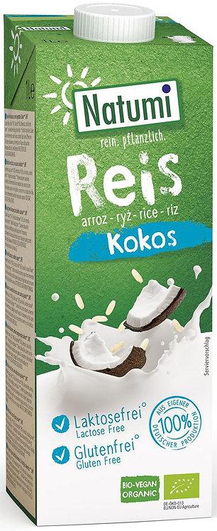 Napój Ryżowo-Kokosowy Bez Dodatku Cukrów Bezglutenowy BIO 1L Natumi
