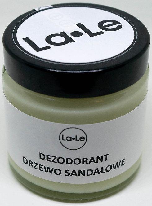 Dezodorant Ekologiczny w Kremie o Zapachu Drzewa Sandałowego La-Le 120ml