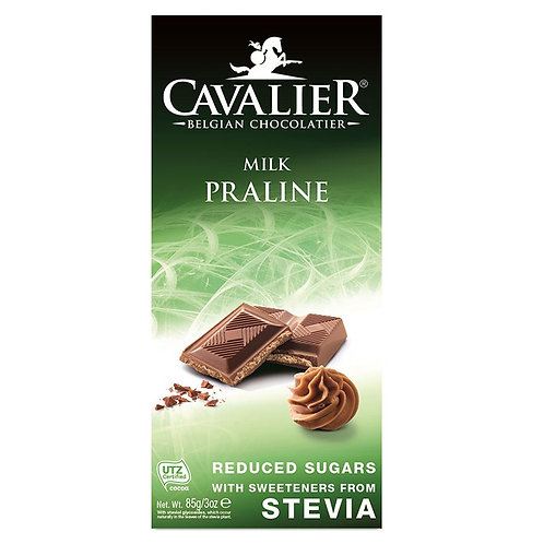 Czekolada Mleczna z Nadzieniem Pralinowym 85g Cavalier
